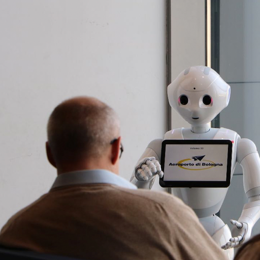 Defining the user flow for the new social robot
