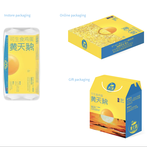 Packaging upgrade for Chinese food producer