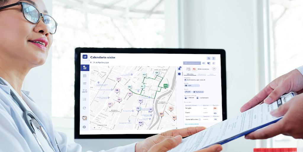 GoCare: una dashboard interattive per un servizio di ospedalizzazione a domicilio migliore